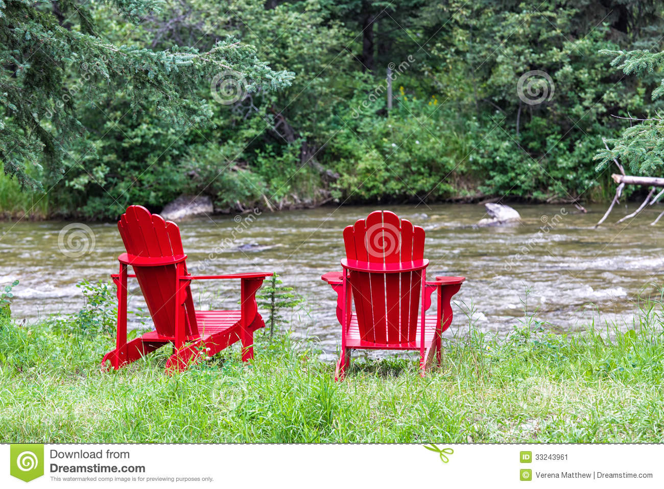 new river adirondack chairs inversion chair for back pain stock image 33243961
