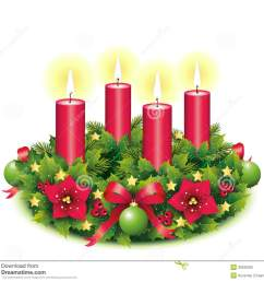 advent wreath four burning candle [ 1300 x 1190 Pixel ]