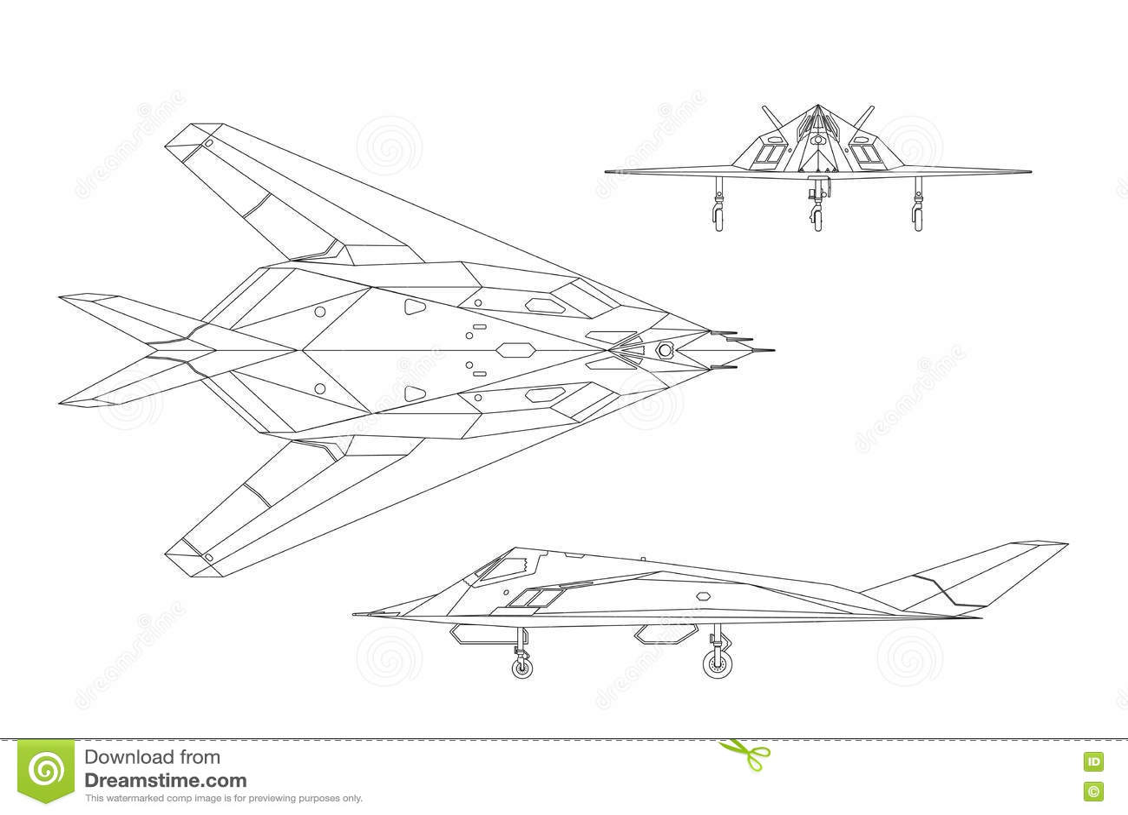 Aero L 159 Alca Contourtekening Van Oorlogsvliegtuig