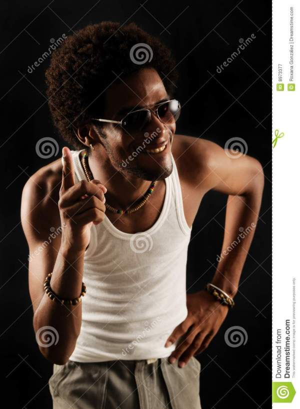 African American Man With Attitude Royalty Free Stock