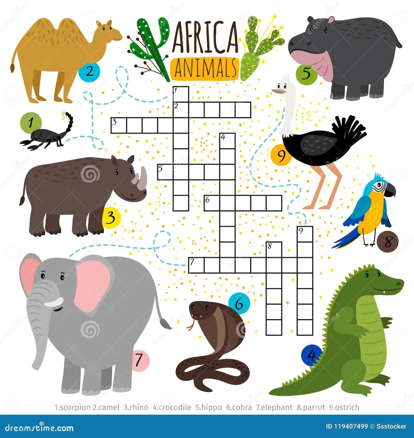 Words Animals