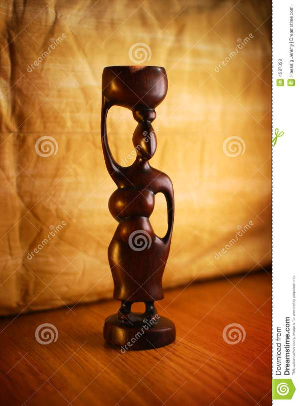African Sculpture Royalty Free Stock - 4287038