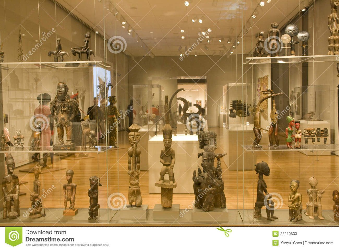 African Sculptures In Seattle Art Museum Editorial Stock Photo  Image 28210633