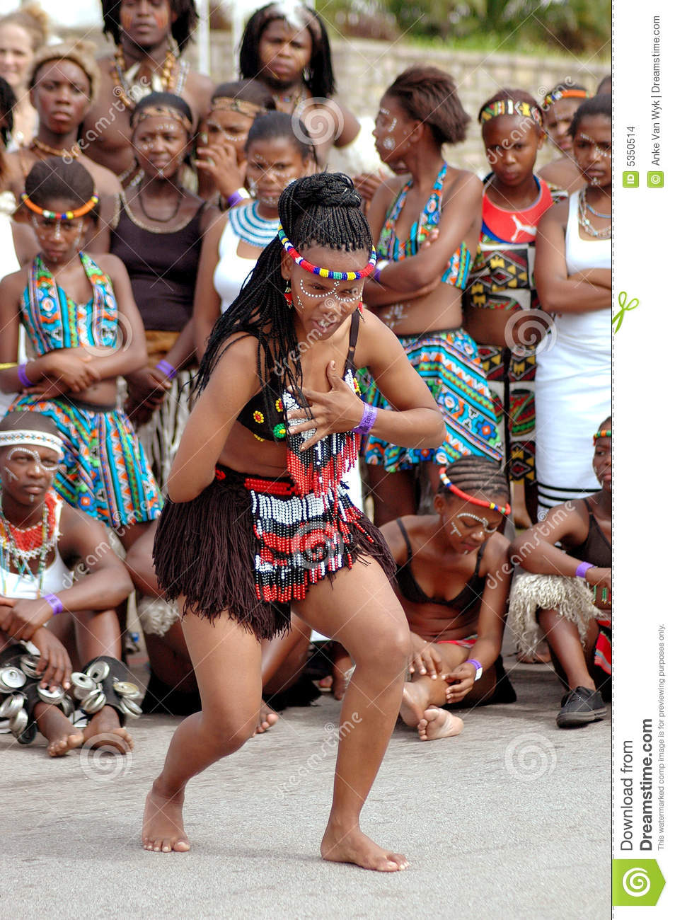 African Traditional Woman Editorial Stock Image  Image