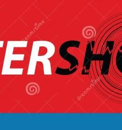 aftershock logo on red background [ 1600 x 688 Pixel ]