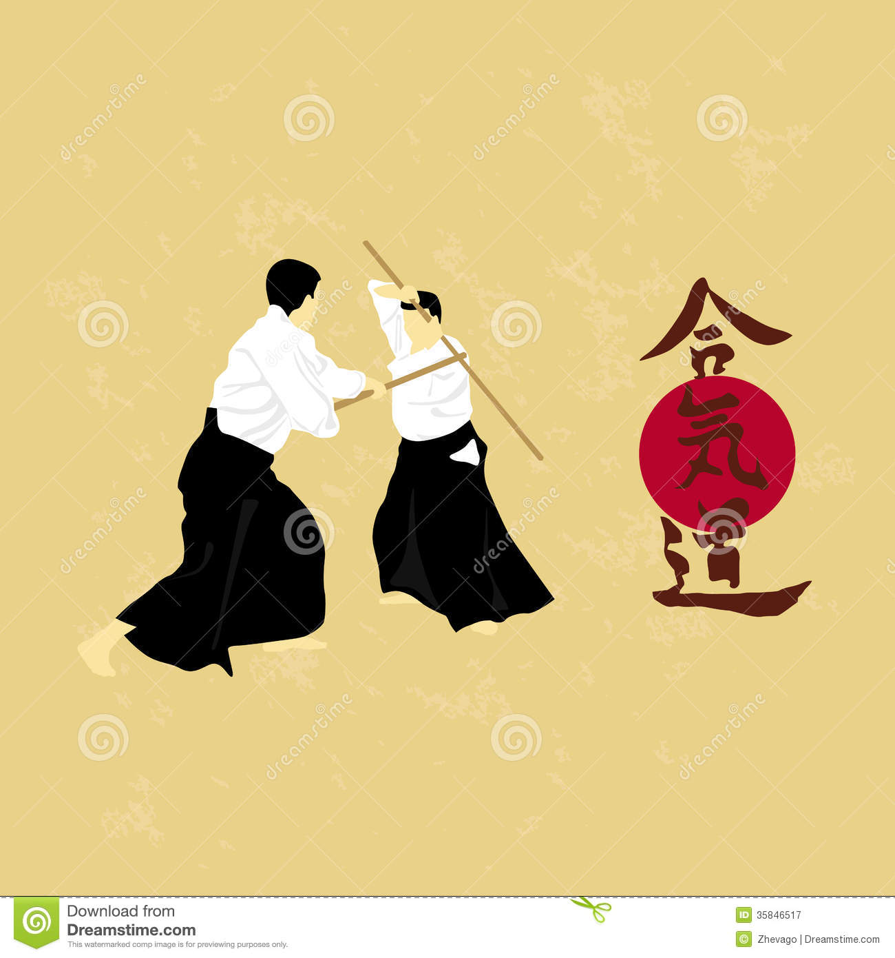 Aikido Royalty Free Stock Photography Image 35846517