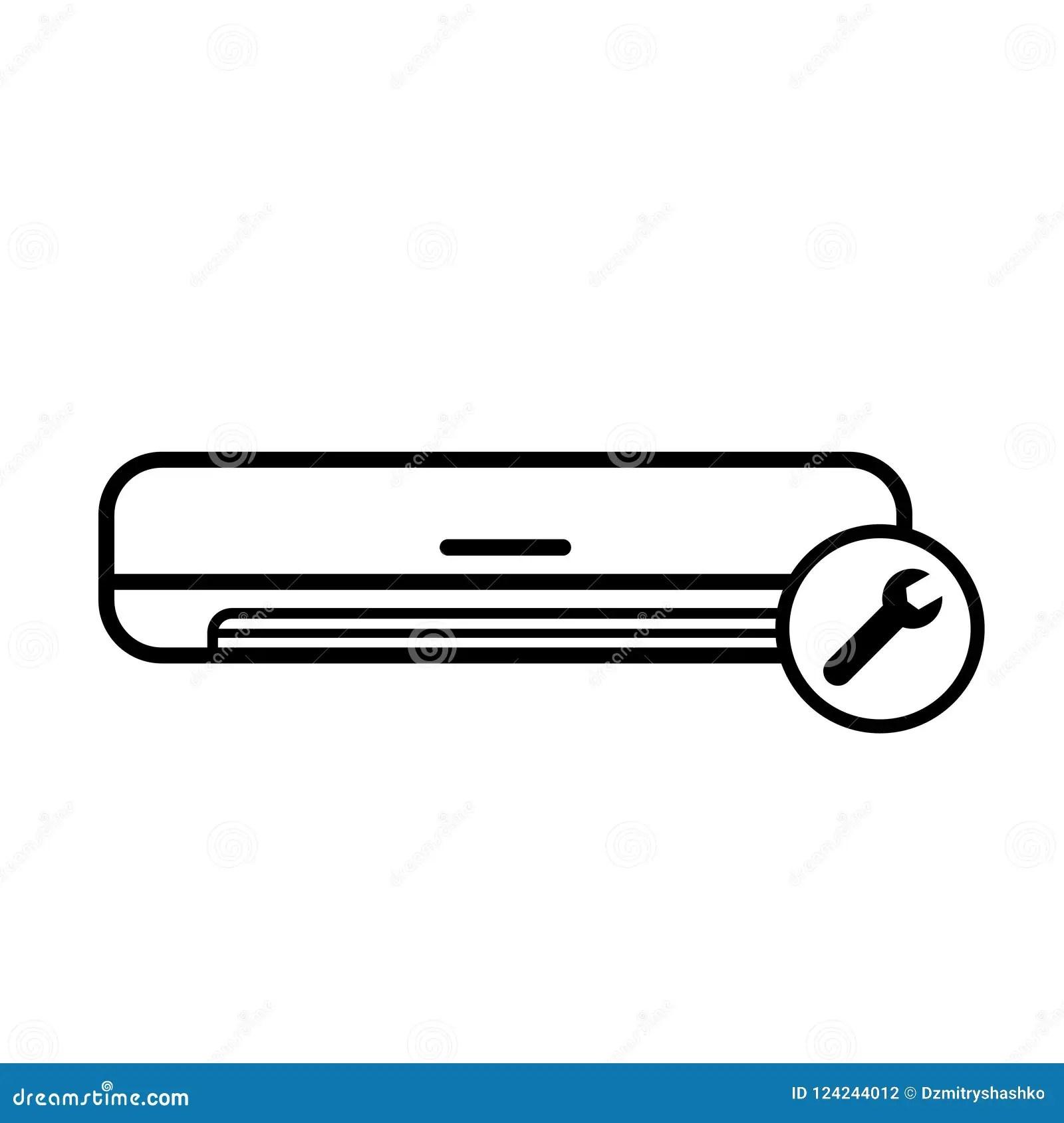 air conditioner repair icon
