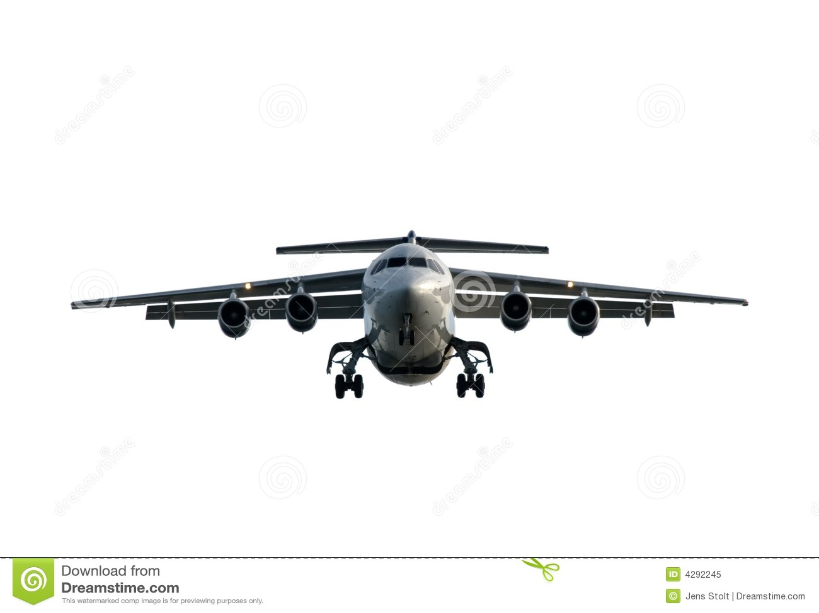 Aircraft Incoming Royalty Free Stock Photo
