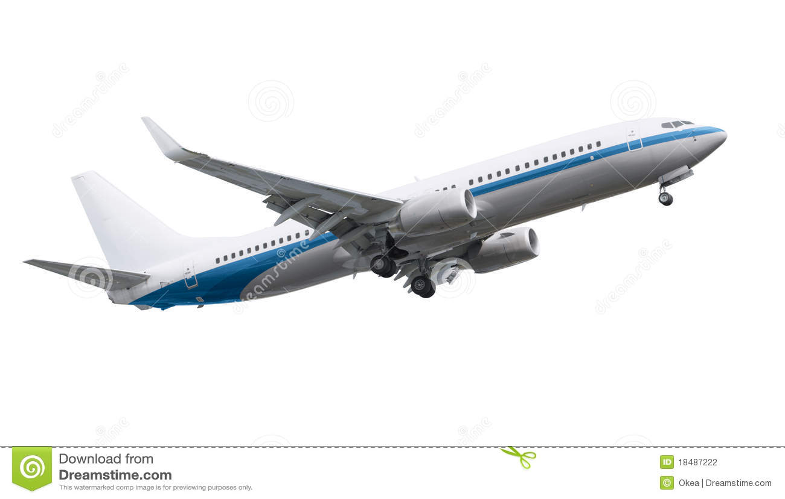 airplane stock photo image