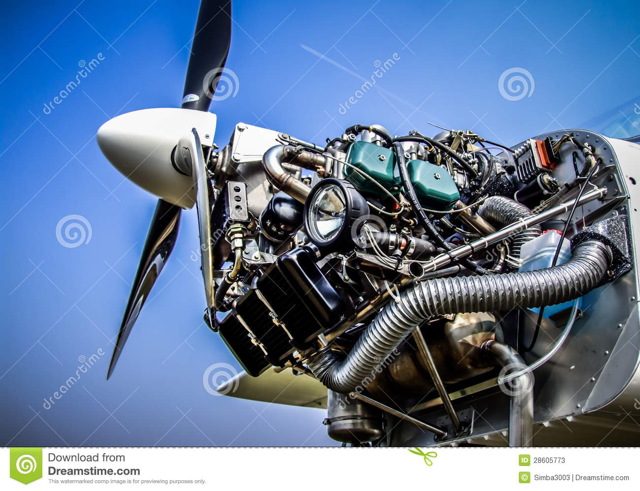 6 7 Diesel Fuel Filters Airplane Engine Stock Image Image Of Technology
