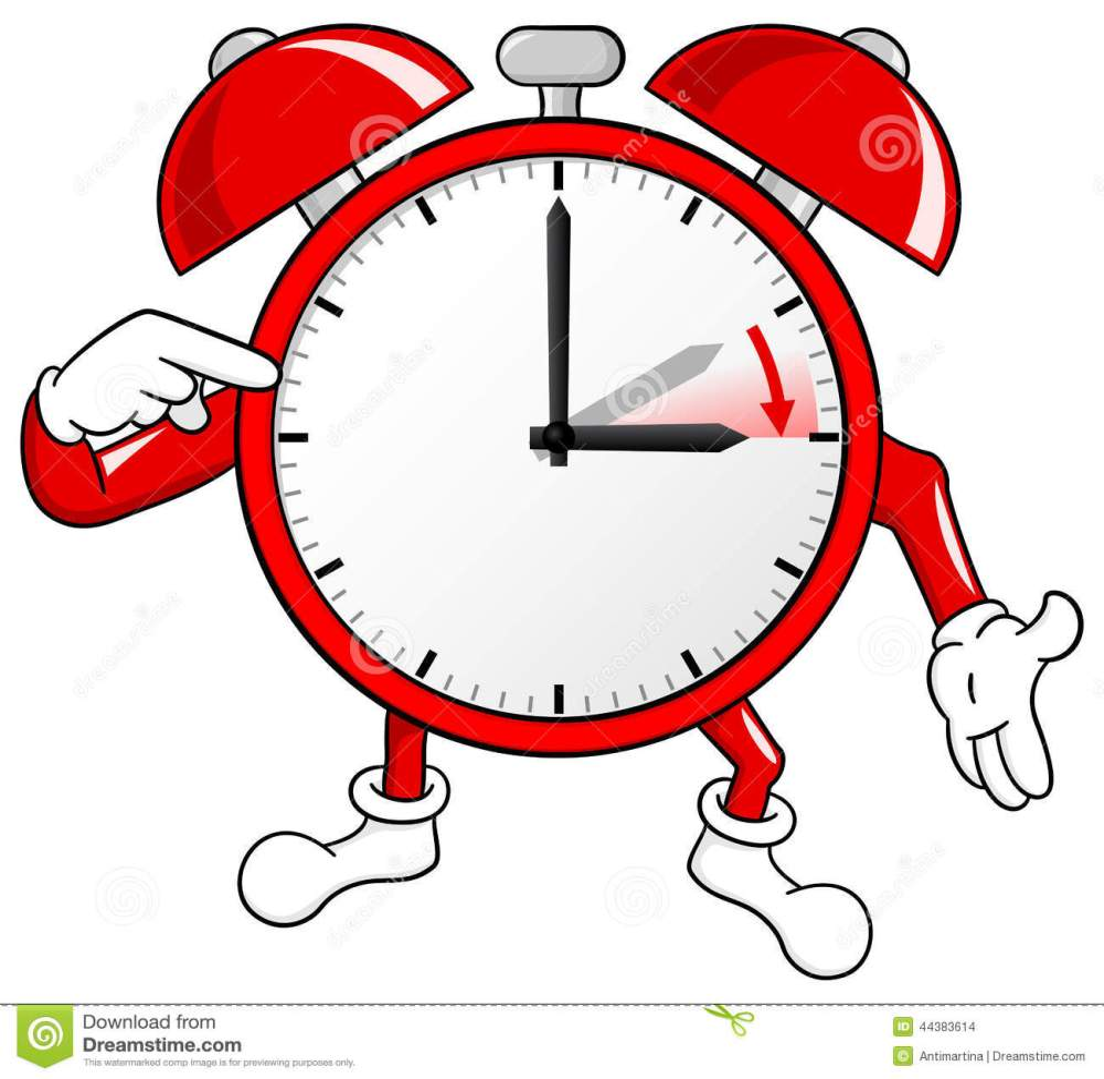 medium resolution of alarm clock change to daylight saving time