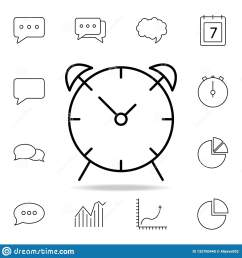 alarm clock icon detailed set of simple icons premium graphic design one of the collection icons for websites web design mobile app on white background [ 1600 x 1689 Pixel ]