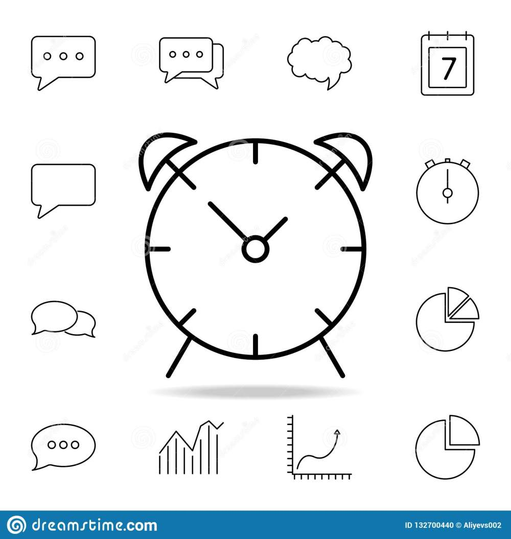 medium resolution of alarm clock icon detailed set of simple icons premium graphic design one of the collection icons for websites web design mobile app on white background