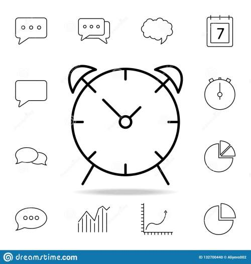 small resolution of alarm clock icon detailed set of simple icons premium graphic design one of the collection icons for websites web design mobile app on white background