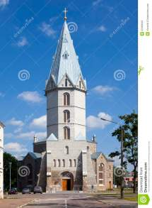 Lutheran Church. Royalty-free Stock