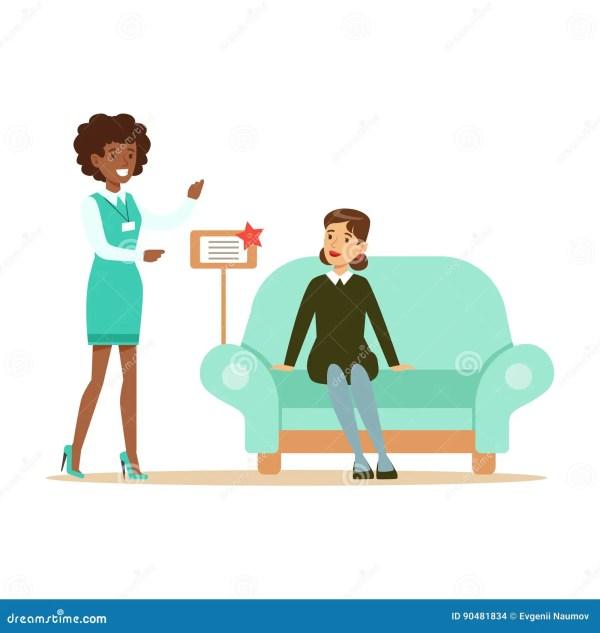 Almacene Al Vendedor Muestra Sofa Woman Azul