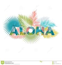 Aloha Hawaii. Aloha T-Shirt Design. Stock Vector ...