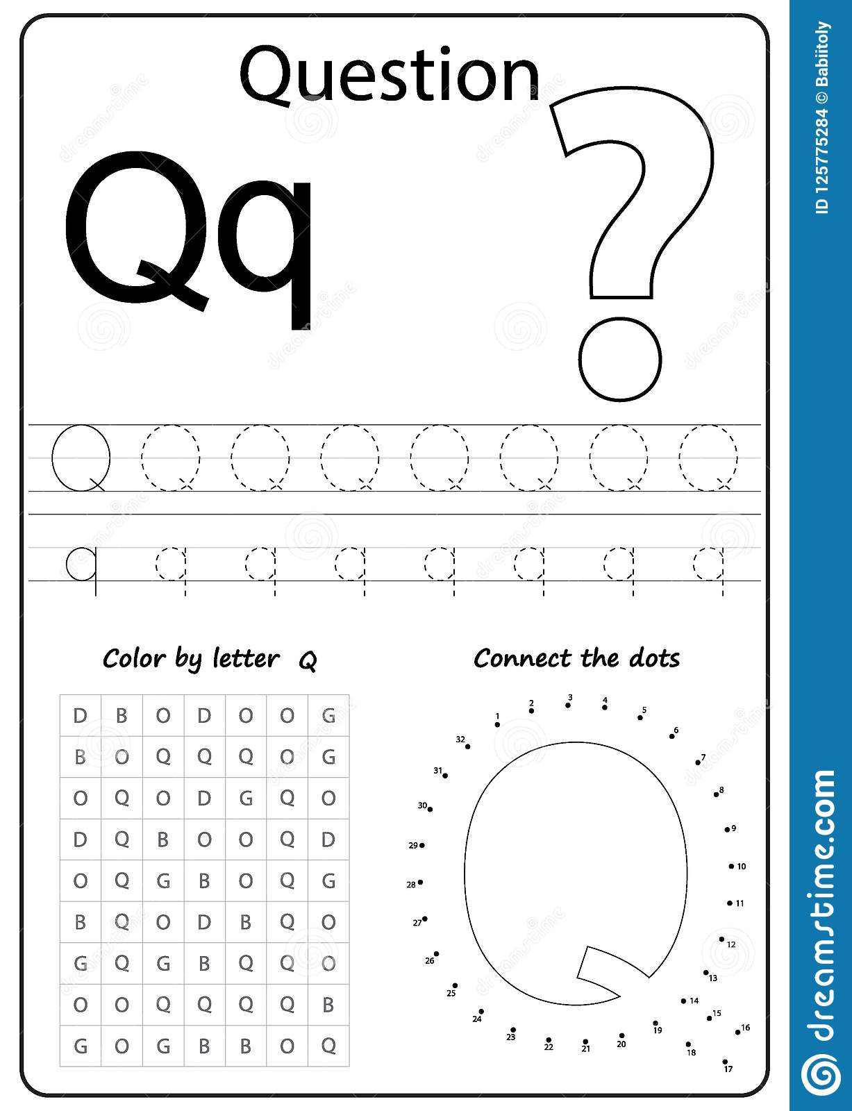 Writing Letter Q Worksheet Writing A Z Alphabet