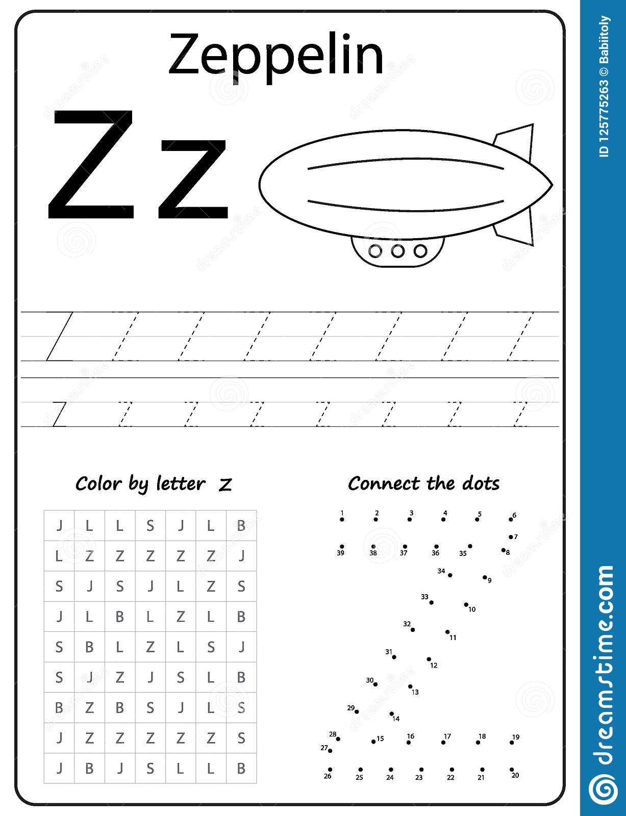 Writing Letter Z Worksheet Writing A Z Alphabet