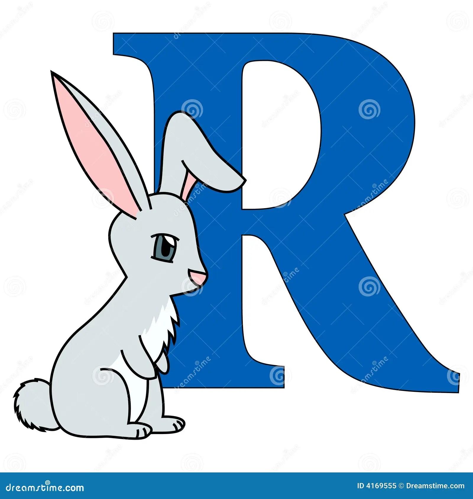 Alphabet Letter R Stock Vector Illustration Of Learn