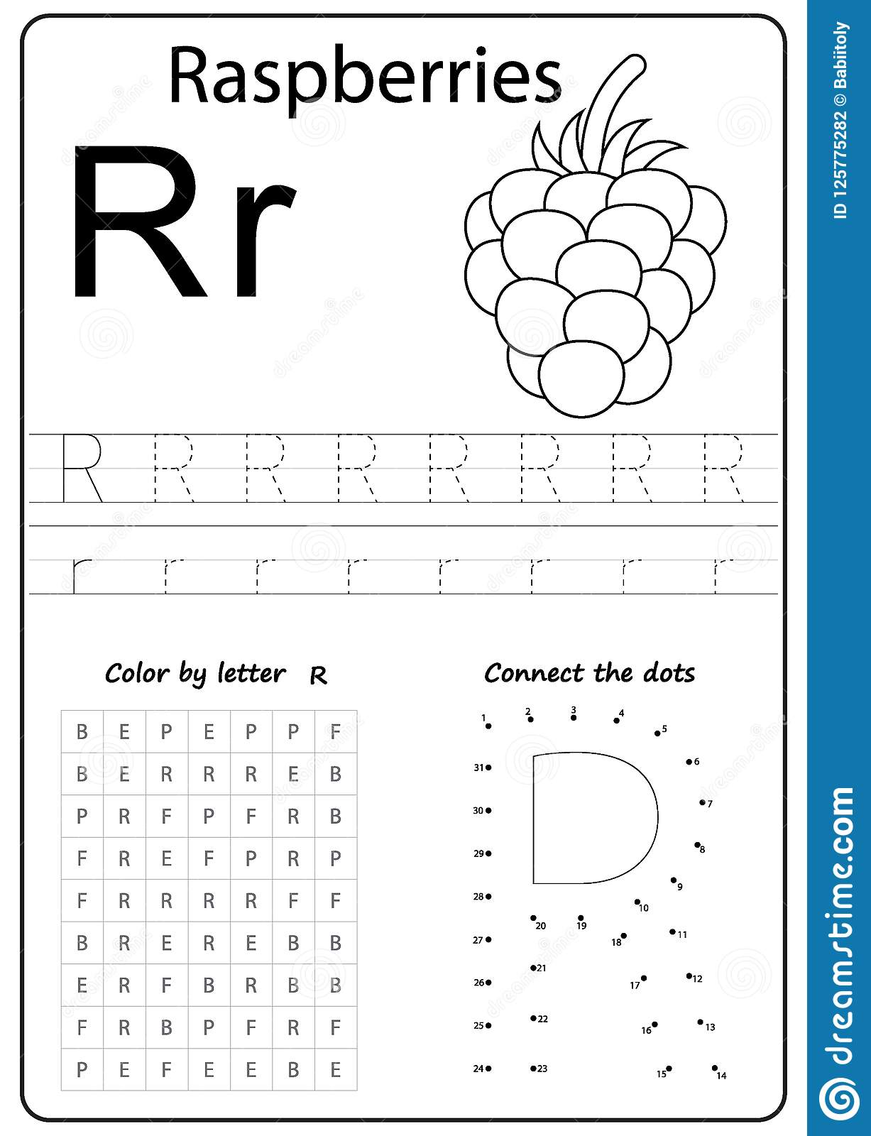 Learning Letters Worksheet