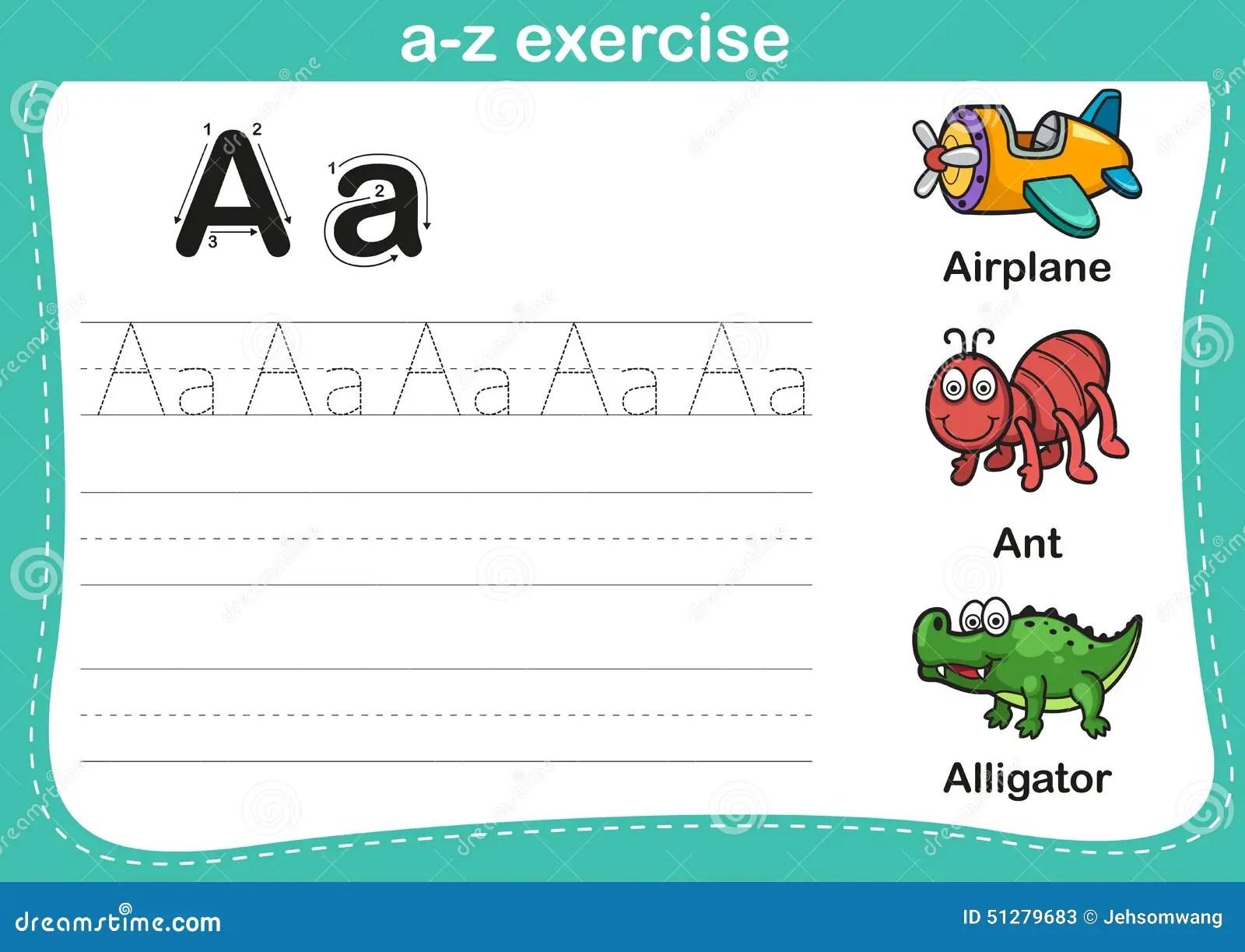 Worksheet Letter Alligator