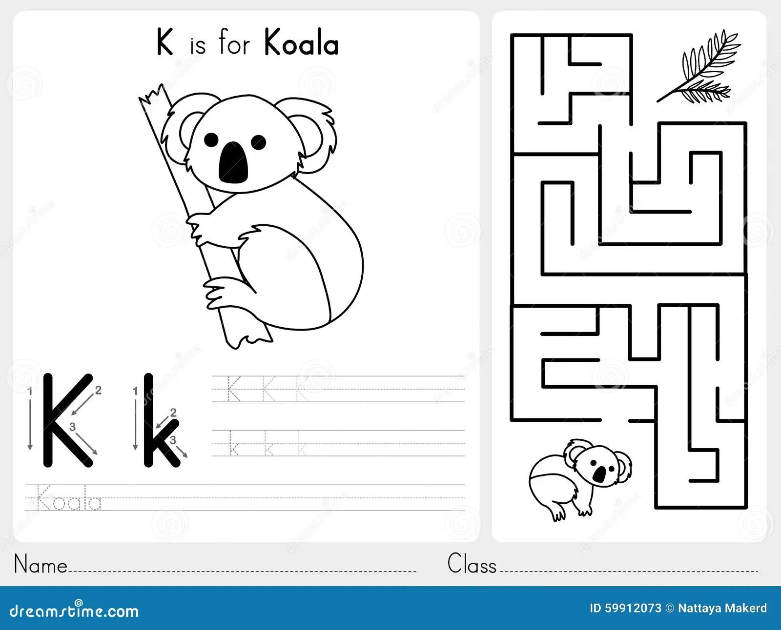 Alphabet A Z Tracing Et Fiche De Travail De Puzzle