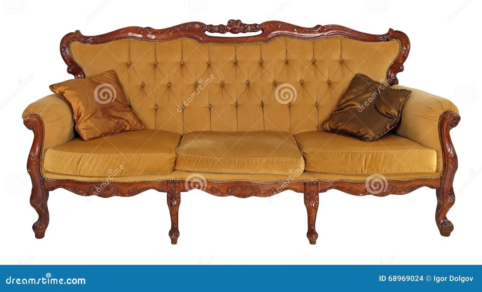 Altes Sofa Stockfoto Bild Von Einrichtungen Nachricht