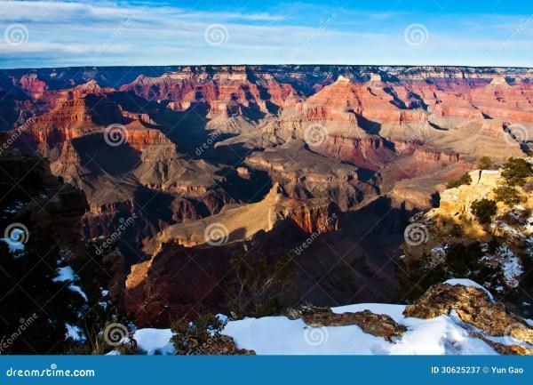 Amazing Landscape In Grand Canyon National Park Arizona Usa Royalty Free Stock