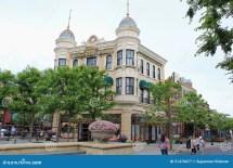 America Waterfront Tokyo Disneysea Editorial
