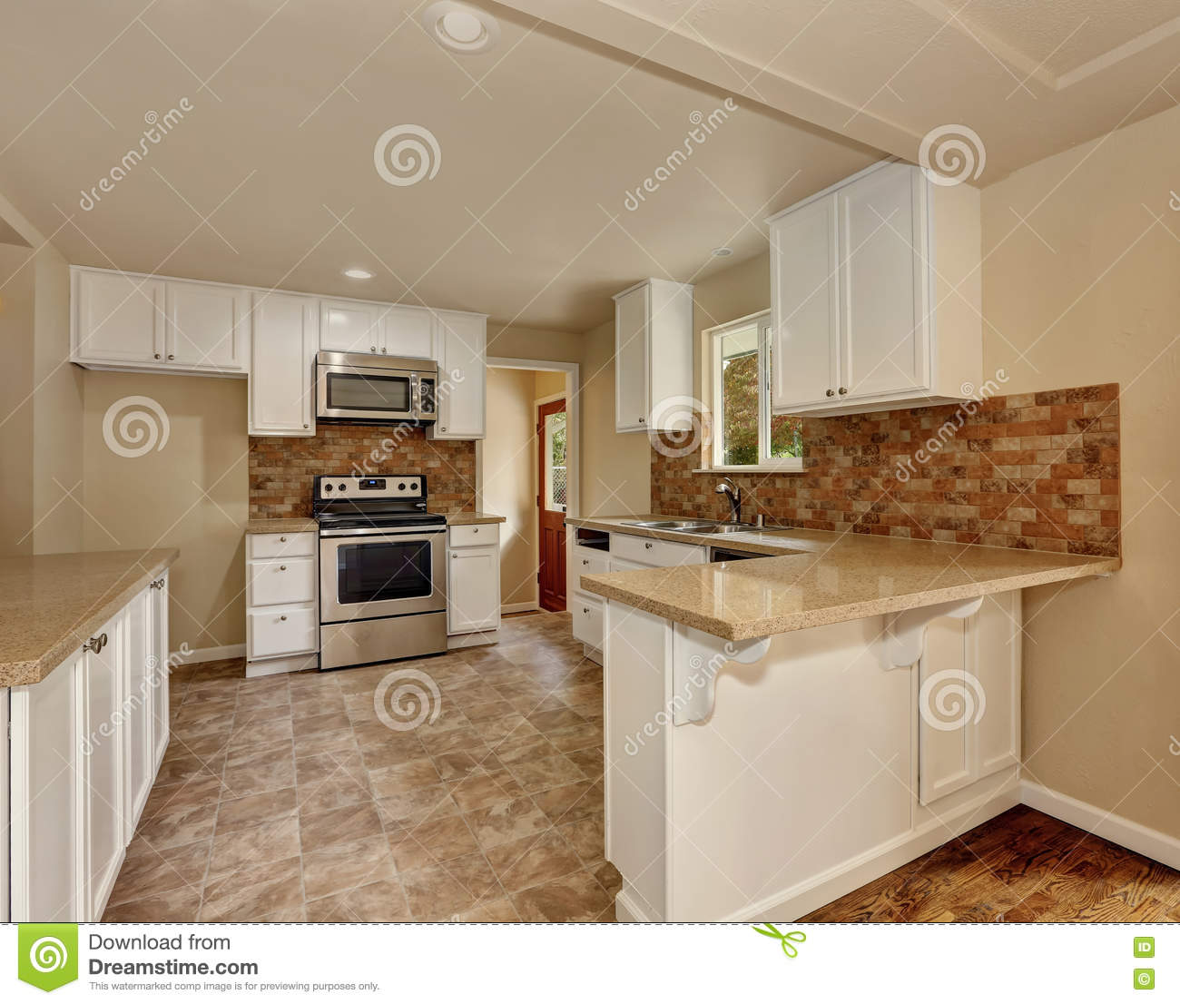 american classics kitchen cabinets cabinet warehouse classic style room interior stock photo