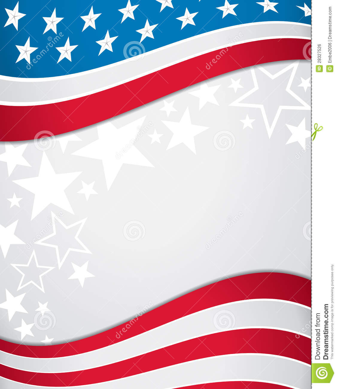 american flag background stock