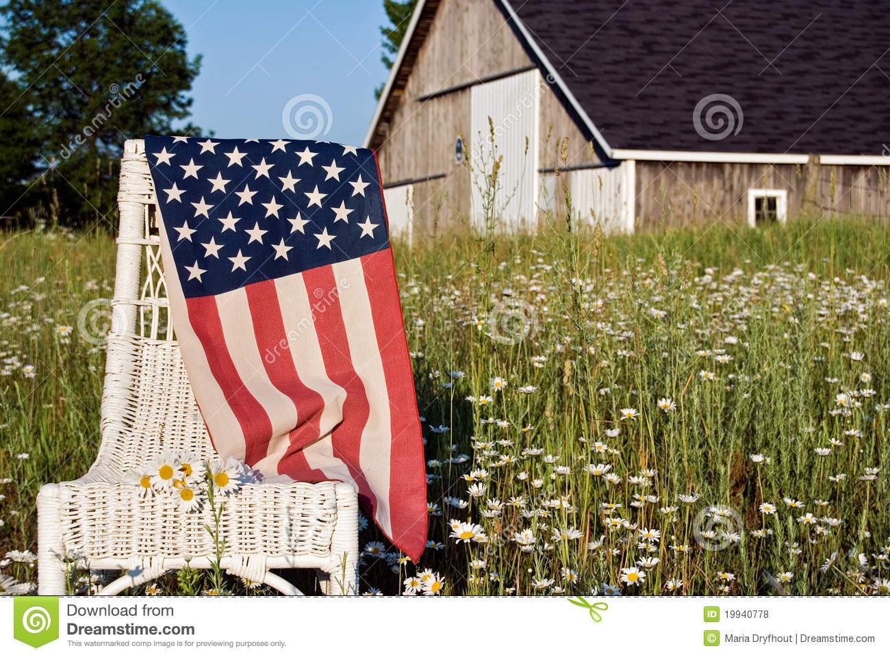 american flag chair fabric for office chairs on royalty free stock photos image
