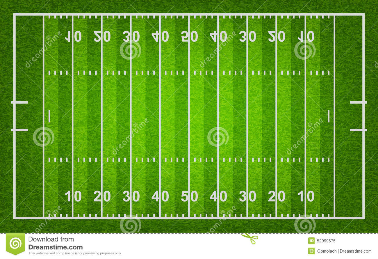 ncaa soccer field diagram how to wire a ring main american football stock vector image 52999675