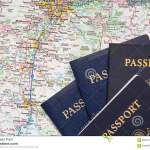 American Passports Travel Road Map Background Stock Image Image Of Space Background 66911089