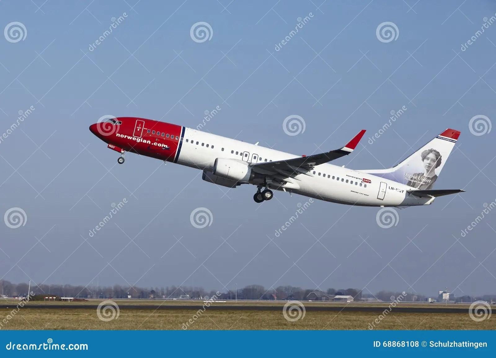 amsterdam airport schiphol norwegian