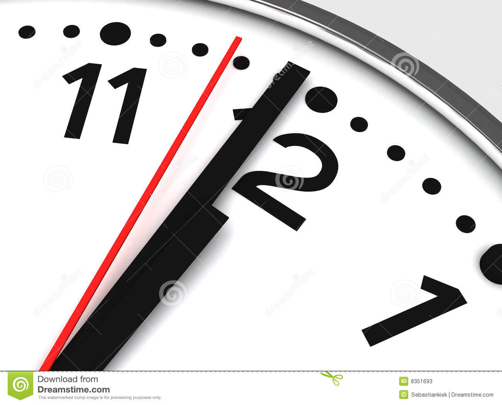 Og Clock Closeup Stock Illustration Illustration Of