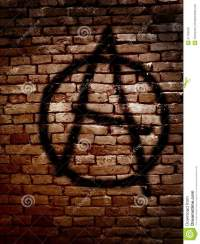 Anarchy Symbol Stock Photo
