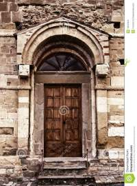 Ancient door stock image. Image of natural, design, closed ...