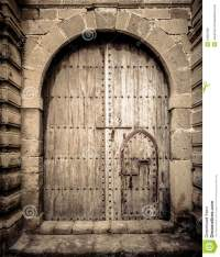 Ancient doors, Morocco stock photo. Image of culture ...