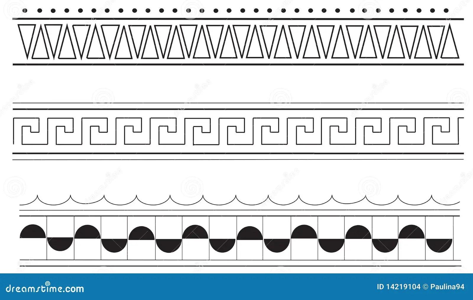 ancient greek border patterns