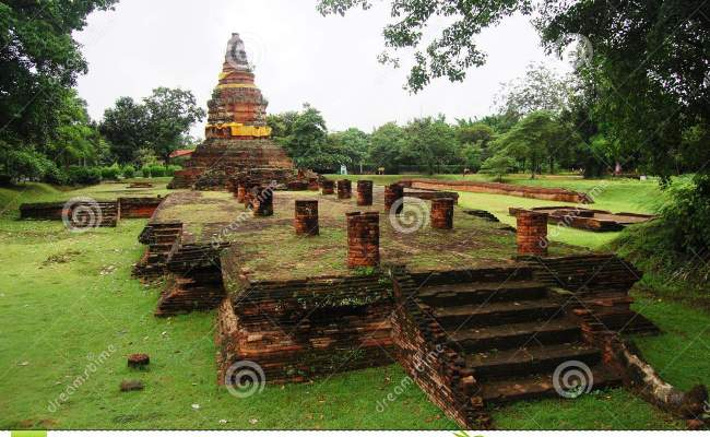 Ancient Lost City Of Wiang Kam Stock Image Image 30767191