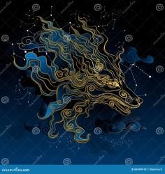 ancient mythical fox