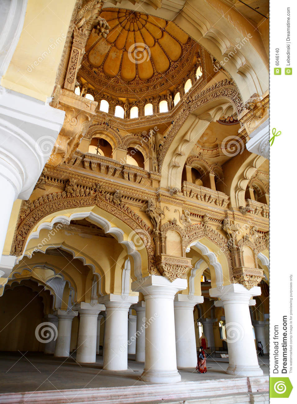 Ancient palace interior stock photo Image of building