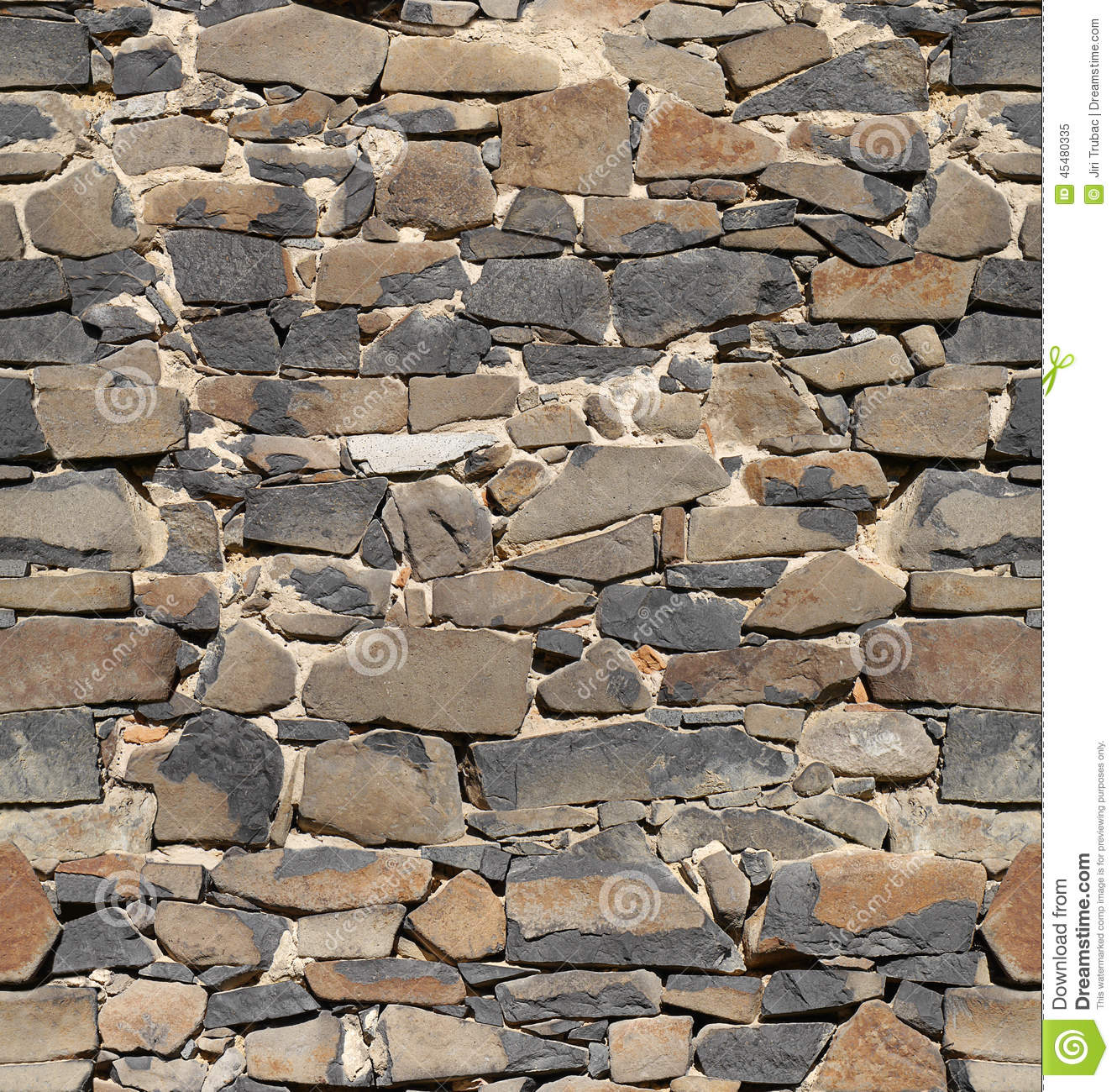3d Slate Effect Wallpaper Ancient Stone Wall Wallpaper Background Stock Image