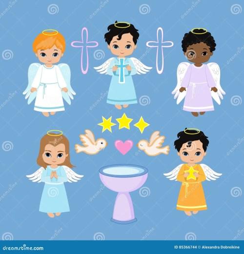 small resolution of angel digital clipart set angel boys on the sky baptism