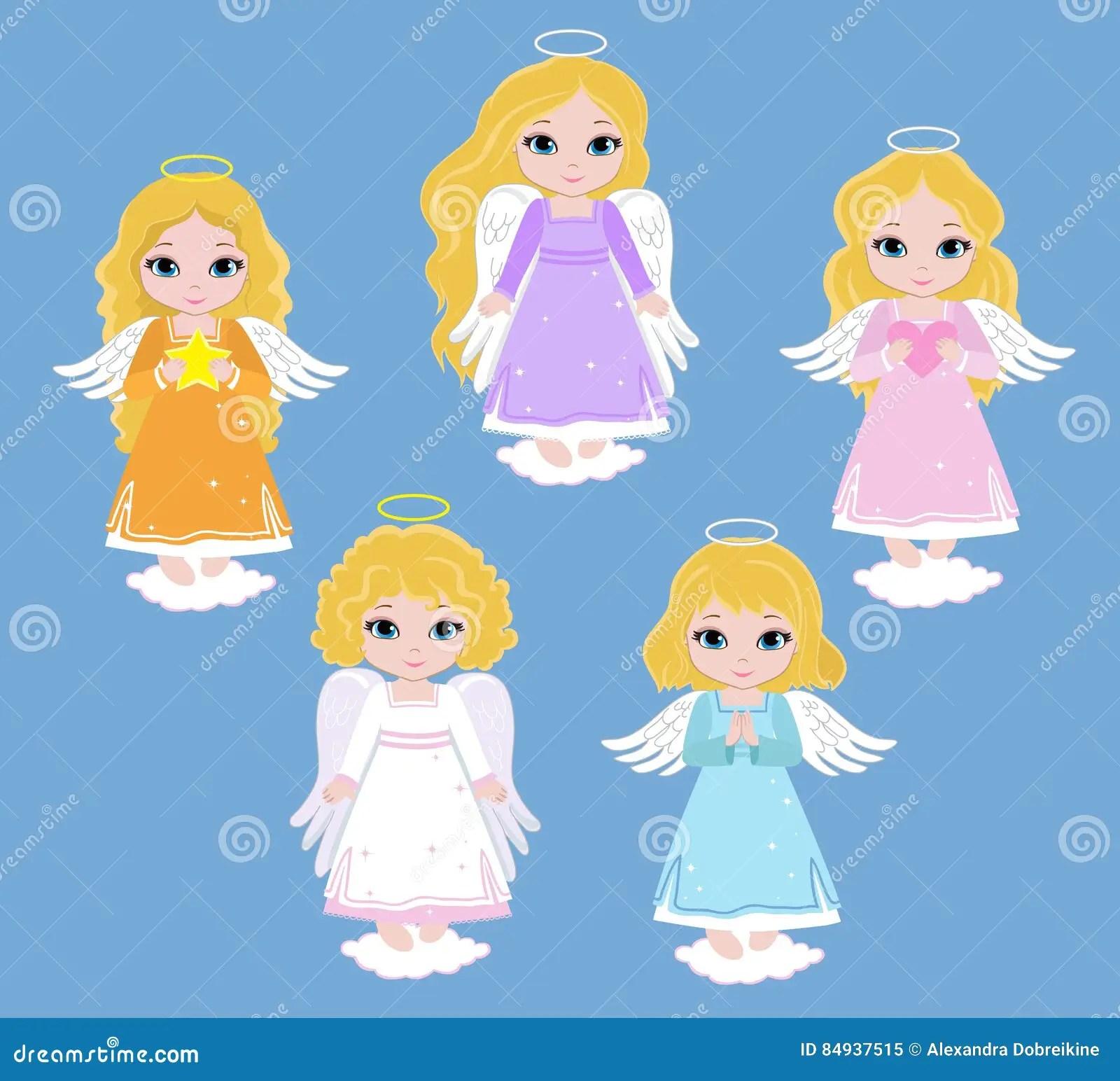 hight resolution of angel digital clipart set angel girls baptism