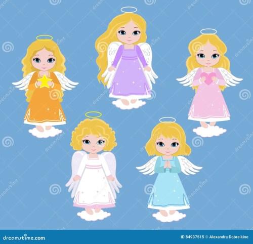 small resolution of angel digital clipart set angel girls baptism
