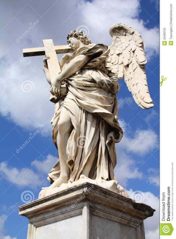 Angel Statue In Rome Stock Of Roma Sightseeing - 22490755