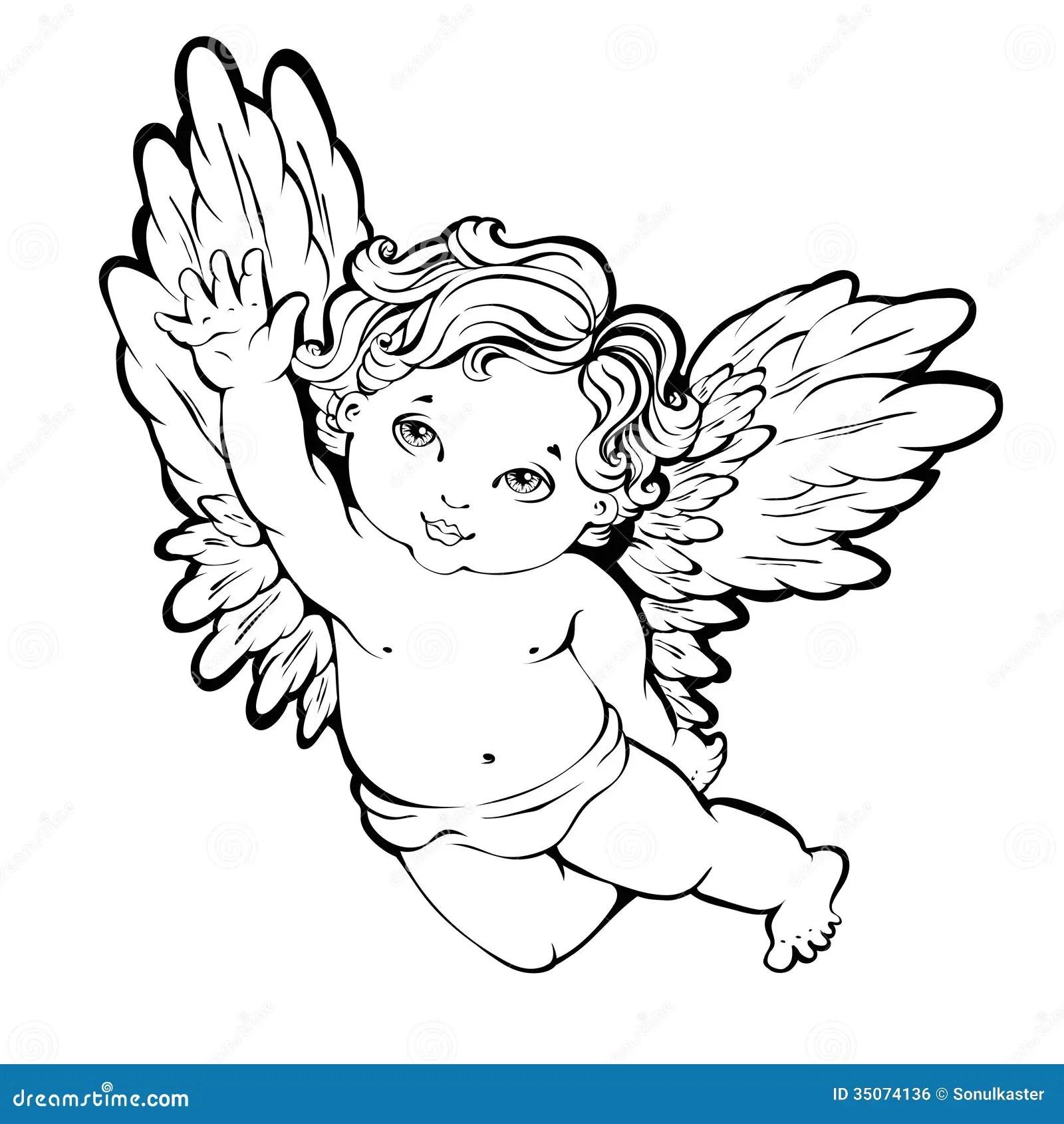 Angel Stock Vector Illustration Of Decoration Desire
